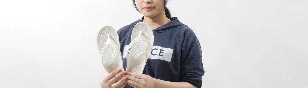 水に濡れても滑べりにくい日本製のサンダル『魚サン』を紹介