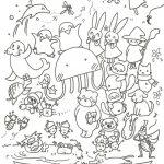 2020年04月18日(土)くらげのクラッキー塗り絵Vol.1 無料ダウンロード開始