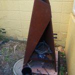 薪ストーブTIPI120でお餅を焼く / 炭火の処理はロゴスのポータブル火消壺で